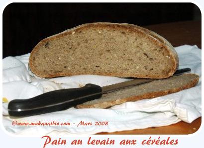 Pain de base 5 céréales mars 2008