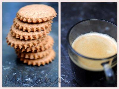 Biscuits cacao et épeautre