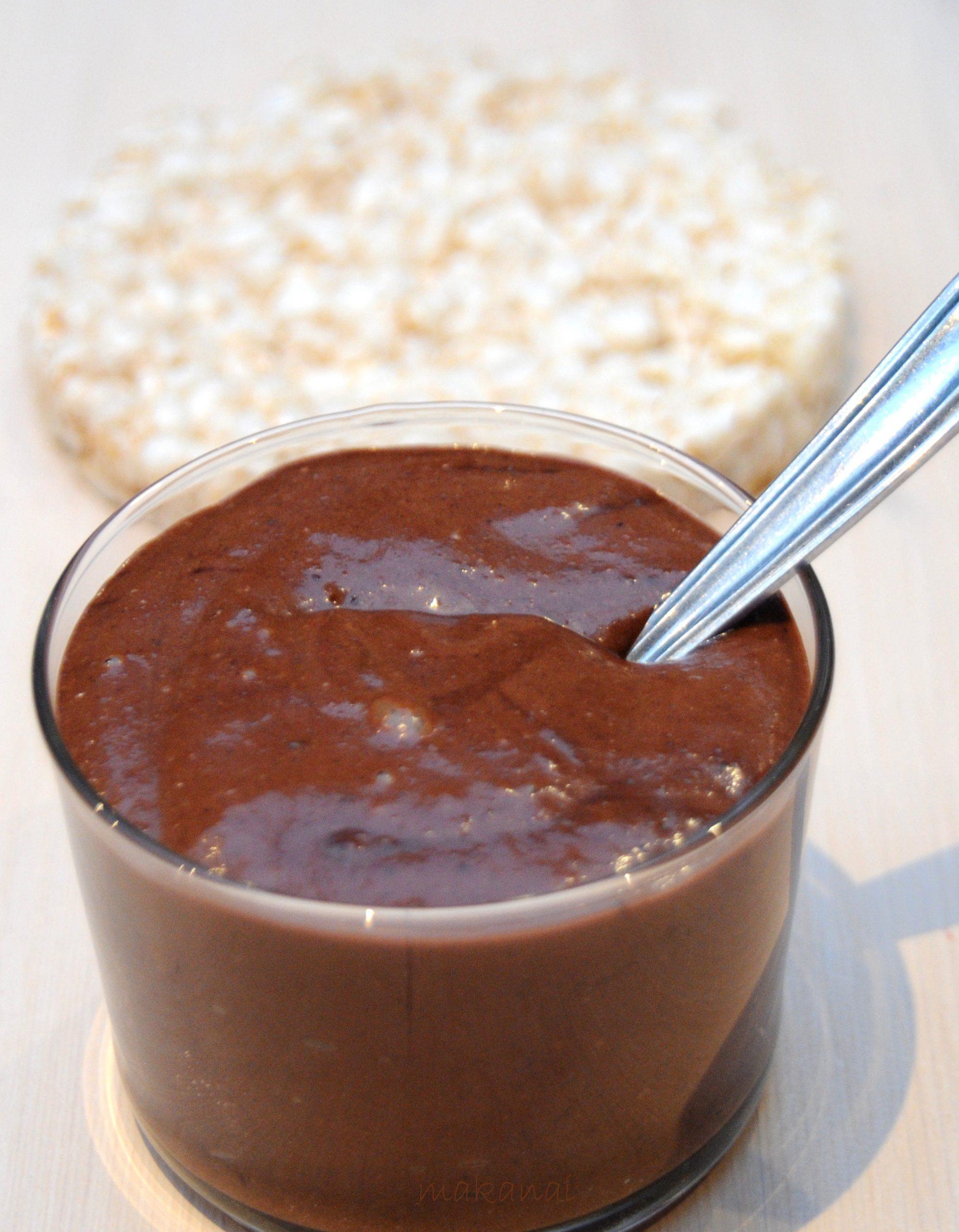 pate a tartiner ou creme dessert banane noisettes chocolat sans lait et ma nouvelle bible bio bon gourmand