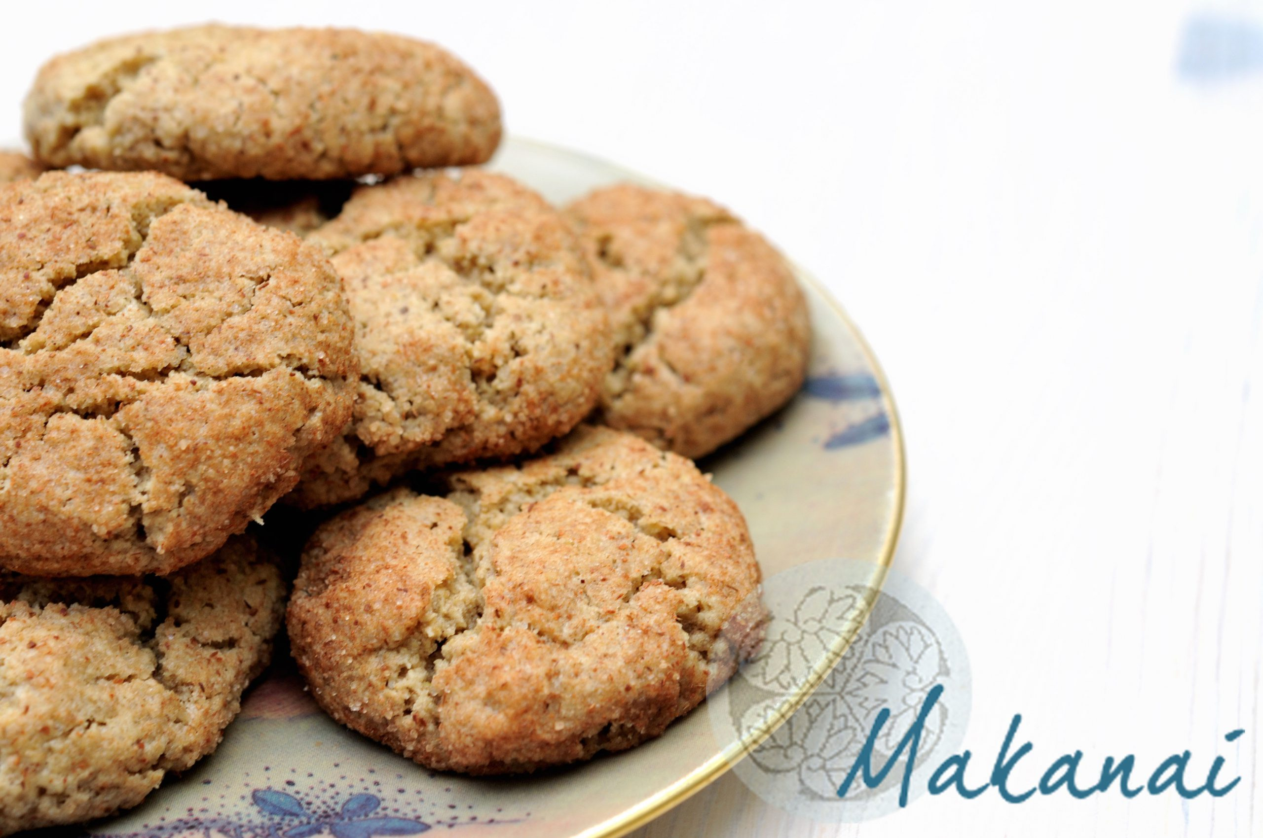 Snickerdoodles cookies la canelle makanaimakanai - Recette biscuit sans sucre ...
