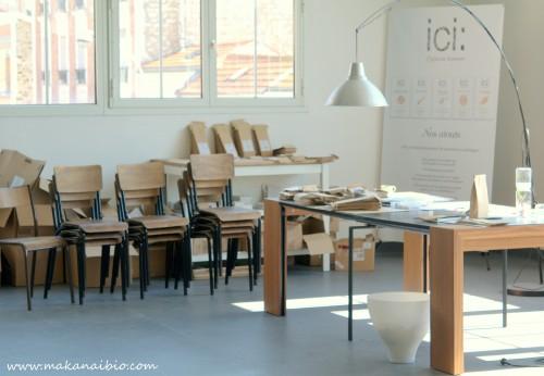 Les locaux d'ICI l'épicerie locavore