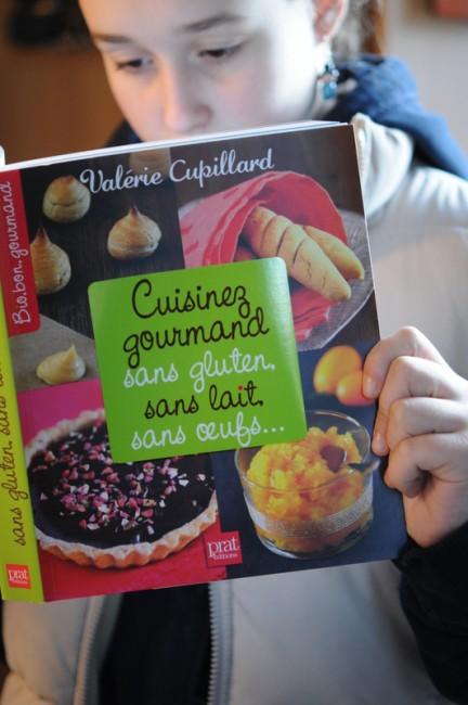 Valérie Cupillard, Cuisinez gourmand sans gluten, sans lait, sans oeufs