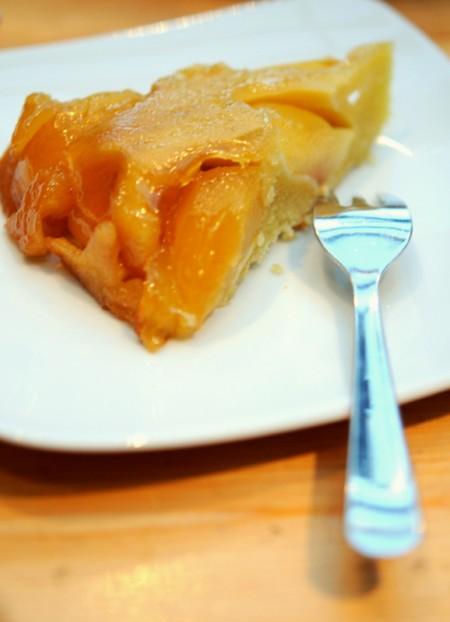 Gâteau aux pommes et au caramel, façon Tatin