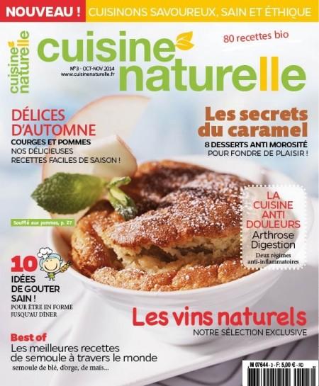 Couverture Cuisine Naturelle n°3