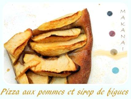 Entre tarte et pizza aux pommes