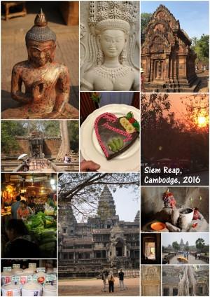 5 jours à Siem Reap, Cambodge, pour mon anniversaire, 2016. Fabuleux.