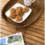 Cookies aux flocons d'avoine et raisins prêts à savourer