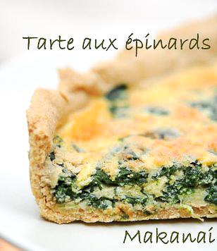 Tarte aux épinards @Makanaibio.com 2008