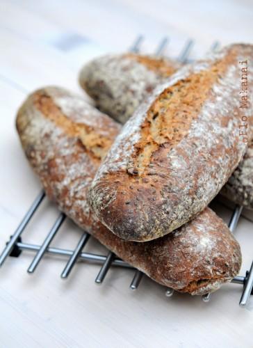 Le pain au levain aux graines de Steve