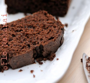 Un cake au chocolat et okara