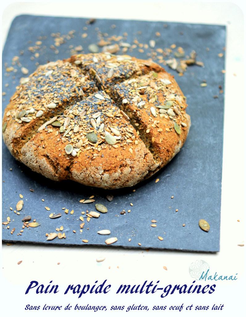 Pain Rapide Sans Levure De Boulanger Avec Ou Sans Gluten