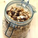 Granola de riz et quinoa aux fruits secs
