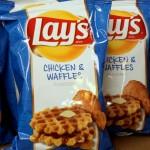 Chips goût poulet gaufre