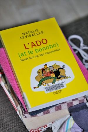 L'ado (et le bonobo), un fort bon livre