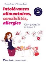 Mon livre Intolérances alimentaires, sensibilités, allergies - édition Terre Vivante 2016