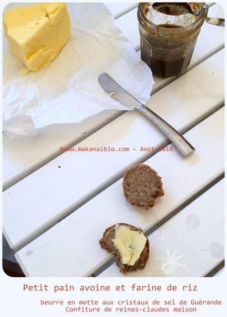 Petits pains avoine et farine de riz levure fraîche (1)
