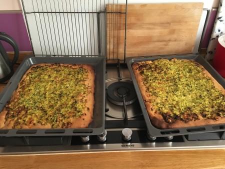 Pizza au levain courgette cantal (5)