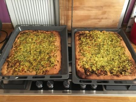 Pizza au levain courgette cantal (6)