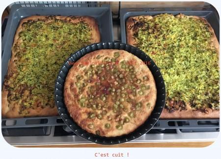 Pizza au levain courgette cantal (7)