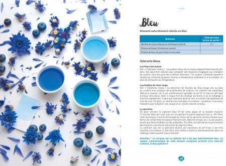 Les colorants naturels bleu