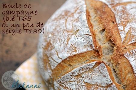 Boule pain au levain Florence Arnaud @Makanaibio