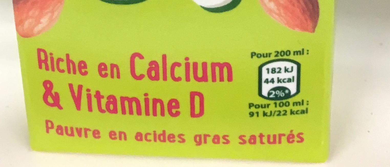 Allégation calcium et vitamine D