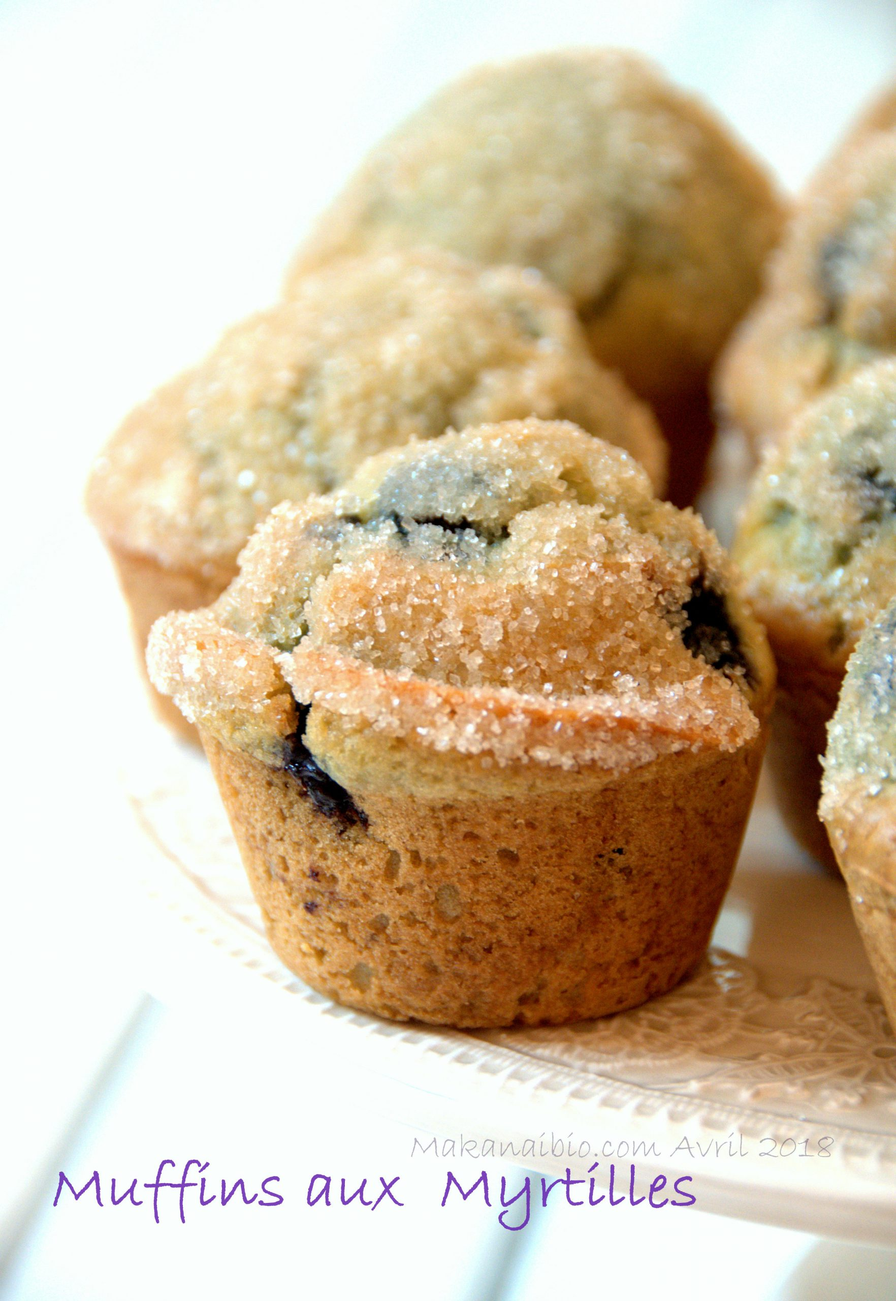 Muffins aux myrtilles @makanaibio.com 2018