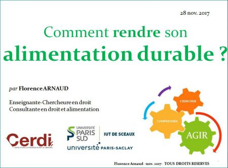 Comment rendre son alimentation durable