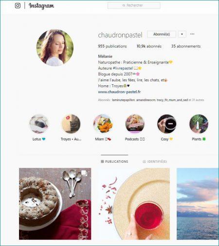 Compte Instagram @chaudronpastel