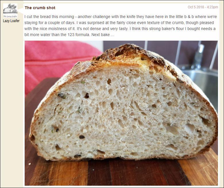 Formule 1.2.3 pain au levain